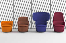 Vibrant Privacy-Inspired Chairs