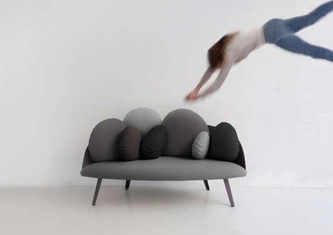Cloud-Resembling Sofas - Constance Guisset Invents the Nubilo Sofa