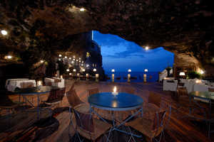The Grotta Palazzese is an Italian Restaurant Built in a Cave