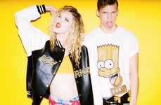 The Simpsons x Joyrich Collaboration Line is Hipster and Urban