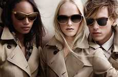Trench Coat-Inspired Eyewear