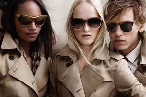 'Burberry Spring/Summer 2014' has Eyewear to Match its Trench Coats