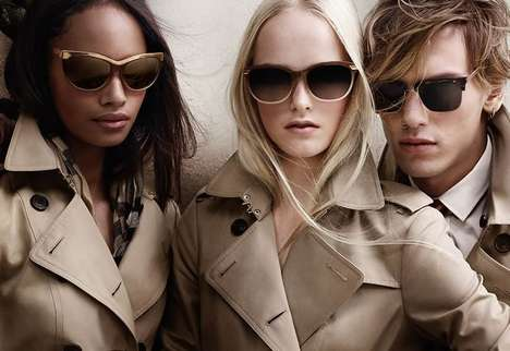 Trench Coat-Inspired Eyewear -