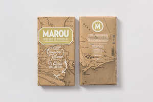 Marou's Chocolate Bar Packaging is the 'X' That Marks the Spot