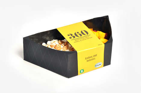 Calorie-Controlled Meal Containers - The 360 Concept Packaging Contains 360 Calories Per Serving