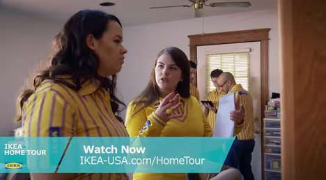 Nostalgic Home Makeover Campaigns - IKEA's Extreme Home Makeover-Style Show Helps Modern Homeowners