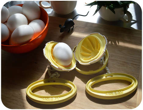 In-Shell Egg Scramblers - The KitchenGoose Makes Eggs in an Unconventional Way