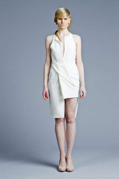 Futuristic Assymetric Collections - Boska by Eliza Borkowska Boasts a Minimalistic Futurism Theme