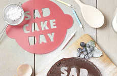 The 'Sad Cake Day' Stencil is Perfect to Cheer Yourself Up