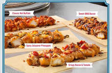 Fried Chicken Pizza Crusts - Domino's Pizza is Switching Up Its Regular Dough and Making it Crunchy