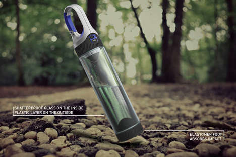Portable Water Bottle Lamps - The Bottlelight Combines Two Essentials to Make Something Powerful