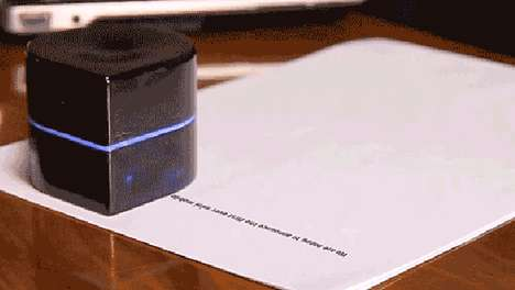 Robotic Pocket Printers - This Mini Mobile Robotic Printer is Perfect for On-the-Go Printing