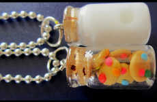 Show Off Your Friendship with a Set of Milk and Cookie Necklaces