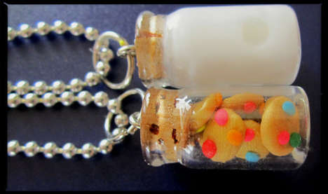 BFF Snack Necklaces - Show Off Your Friendship with a Set of Milk and Cookie Necklaces