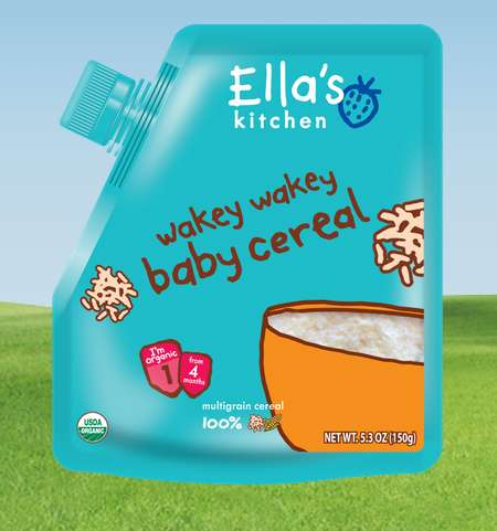 Organic Baby Food Pouches - Tasty Baby Food by Ella