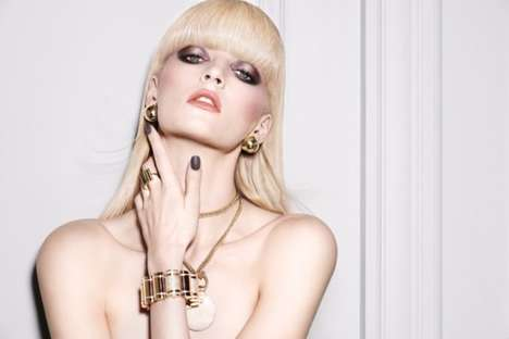 Smokey Eyed Makeup Ads - The Nars Dual-Intensity Eyeshadow Campaign Stars Model Daria Strokous