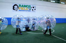 Bubble-Wrapped Soccer Matches