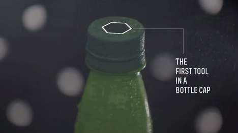 Wrench-Integrated Bottle Caps - The Dew Bottle Tool Puts a Wrench in a Mountain Dew Bottle