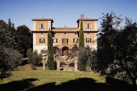 Sojourning Artistic Retreats - The Villa Lena is a Utopian Environment for Creative Types