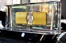 These Toasters Let You See Exactly How Your Bread is Getting Toasted