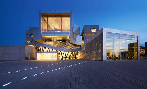 Cubic Cultural Centers - The House of Music by