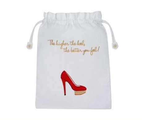 Chic Shoe-Carrying Totes - This Charlotte Olympia Shoe Bag Lets You Easily Transport Your Heels