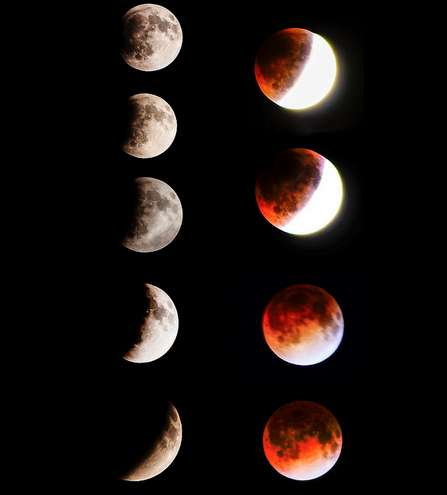 Rare Lunar Eclipse Photography - The Blood Moon 2014 Will Make a Great Addition to Your Instagram