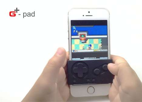 Gamer-Friendly Phone Sleeves - 'G-Pad' Gamepad is a Game Boy Controller for Your iPhone