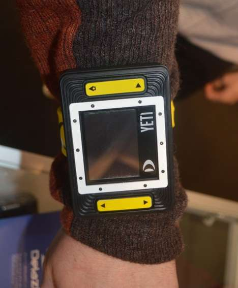 Wearable Winter Sports Trackers - The Yeti Wrist Monitor Tracks Your Skiing and Snowboarding Stats