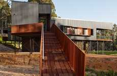 Eco-Friendly Rural Homes - The Nannup Holiday House in Australia Embraces Nature's Gifts