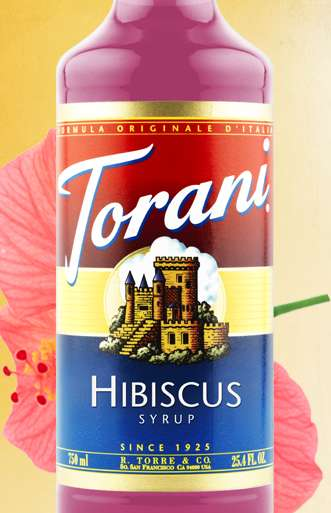 Tropical Flower Flavorings - This Hibiscus Syrup Will Take Your Tastebuds to the Islands