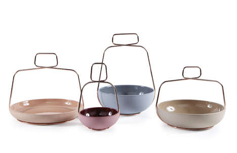 Champagne Cork-Like Tableware - Ilaria Innocenti