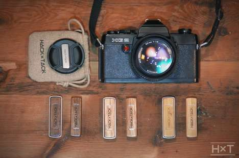 Magnetic Camera Cap Holders - The HACKxTACK Lens Cap Holder Stops You From Losing Your Camera