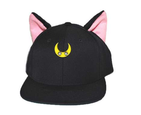 Throwback Anime Kitty Hats - The Luna Hat by Adeen Will Bring Back Fond Anime Memories