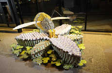 Edible Can Structure Competitions - 'Canstruction Encourages Designers to Build Using Canned Food