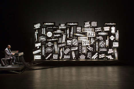 Piano-Linked Light Boxes - The Montreux Jazz Festival Light Installation Announces Program