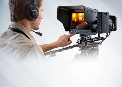 Ultra-Sleek Broadcasting Cameras - Blackmagic Studio Camera is the World