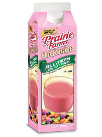 Candy-Flavored Dairy Drinks - The Old Recipe Jellybean Milk is a Sweet Alternative to Chocolate Milk