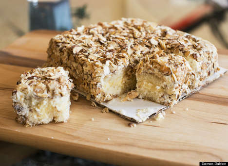 Nationally Beloved Nutty Cakes - The Burnt Almond Torte by Prantl's Bakery is an American Best