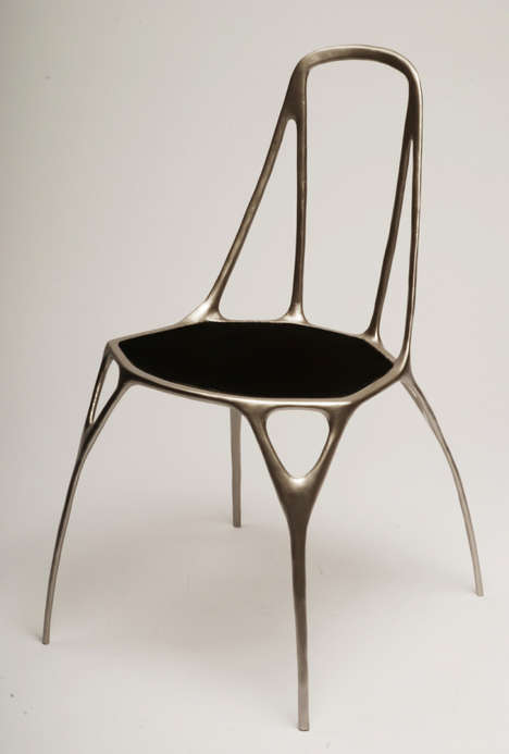 Art-Inspired Sculptural Seats - Designer Benjamin Nordsmark Creates Dramatic Chair Designs
