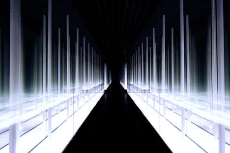 Infinite LED Installations - Prism Design Creates the Infinity Bamboo Forest