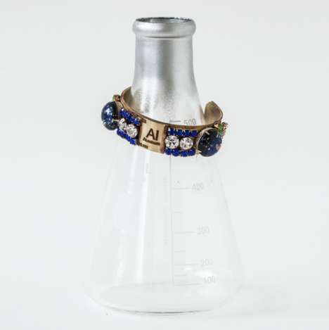Chemistry-Focused Jewelry - Fe Hardware Looks to the Periodic Table for Inspiration