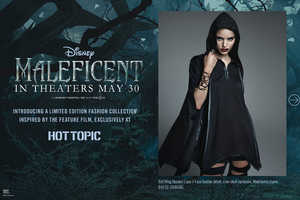 Hot Topic Has a Movie Fashion Collection Based on Disney's Maleficent