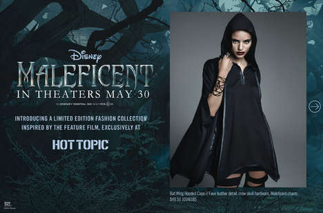 Evil Queen-Inspired Fashion - Hot Topic Has a Movie Fashion Collection Based on Disney