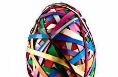 Extravagantly Artful Eggs - This Pierre Hermé Easter Egg Channels a Sculpture by Beat Zoderer