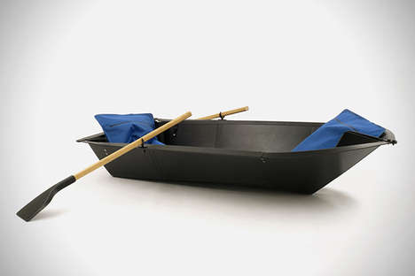 Foldable Rowboats - 'Maarno' Created an Easily Portable Boat for Aquatic Enjoyment