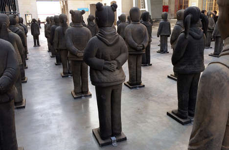 Feminist Statue Shows - This Feminist Art Installation Questions China