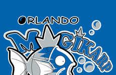 Anime Basketball Logos - Micah Coles' Pokemon NBA Logos Gives Basketball an Anime Flair