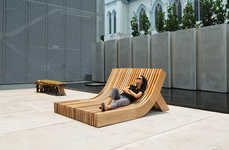 Sloping Public Seating