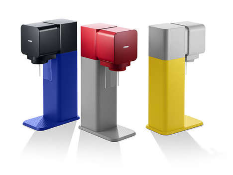 Customizable DIY Soda Dispensers - The SodaStream Play Lets People Mix and Match Bright Colors